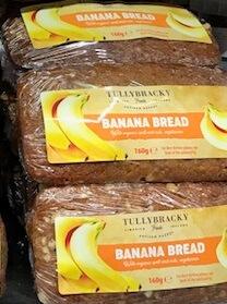 6 Banana Bread Mini Loaves