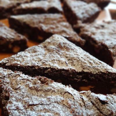 Chocolate Brownie Triangle
