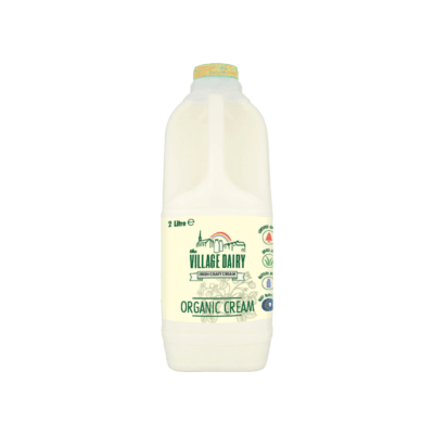250Ml Village Dairy Organic Cream