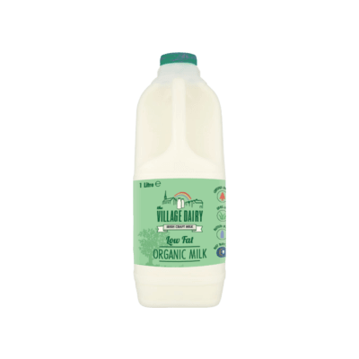 2 Litre Village Dairy Organic Low Fat Milk