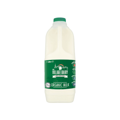 2 Litre Village Dairy Organic Fresh Milk