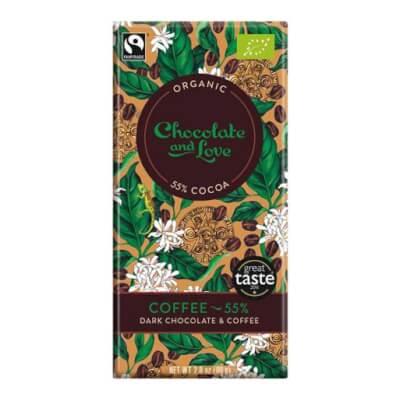 Chocolate & Love Coffee Chocolate Bar