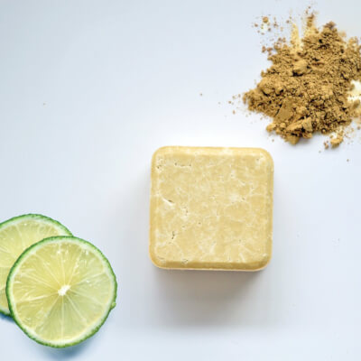 Zero Waste Path 2-In-1 Shampoo & Conditioner Bar -  Dry & Curly Hair