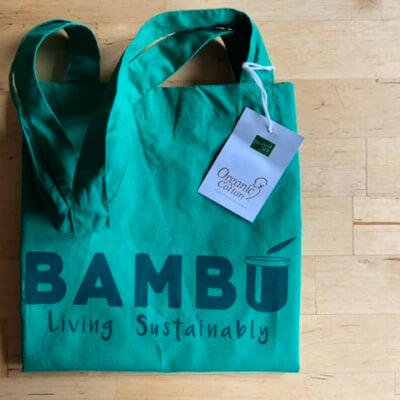 Green Bambú Organic Tote Bag