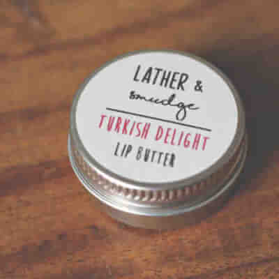Lather & Smudge Turkish Delight Lip Balm