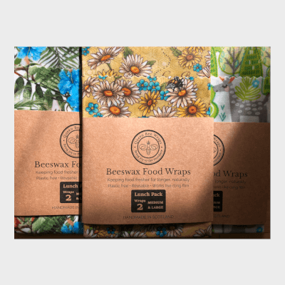 Queen Bee Wraps Food Wraps - Lunch Pack Organic