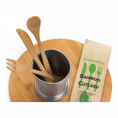 Adult Bamboo Eco Cutlery