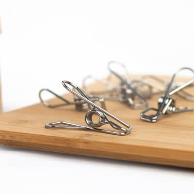 Stainless Steel Pegs 4-Pack