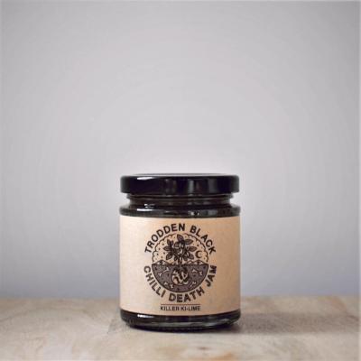 Trodden Black Kiwi Lime Chilli Jam