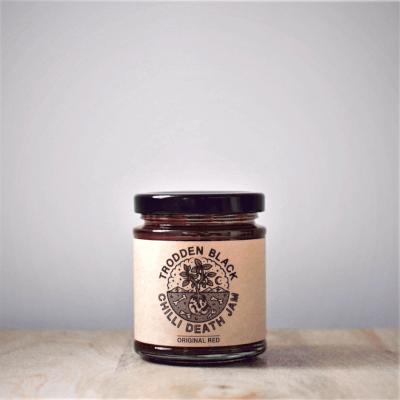 Trodden Black Original Red Chilli Jam