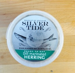 DILL MARINATED HERRINGS