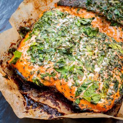 Oven Ready Loch Duart Salmon - Paprika & Herb