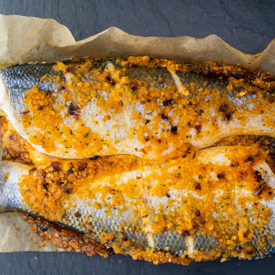Oven Ready Seabass (Whole) - Sweet Chilli & Lime