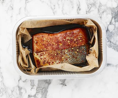 Oven Ready Loch Duart Salmon - Honey, Soy & Chilli