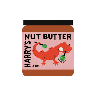 Harry's Nut Butter - Extra Hot