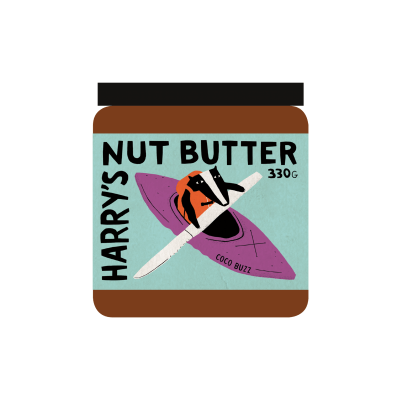 Harry'S Nut Butter – Coco Buzz