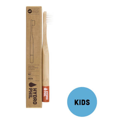 Hydrophil Bamboo Toothbrush - Kids Red