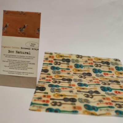Bee Natural Organic Beeswax Wrap (1  Ex Large Wrap)