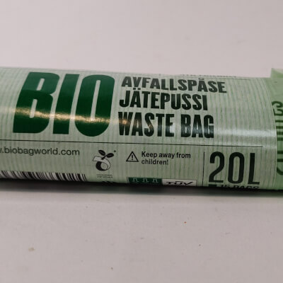 Biobag Compostable Bag 20L 15S