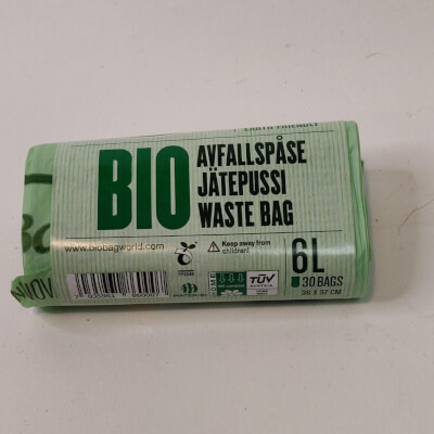 Biobag 6Ltr Compostable Bag