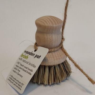 Ecoliving Wooden Pot Brush