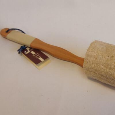 Ecobath Natural Loofah Brush