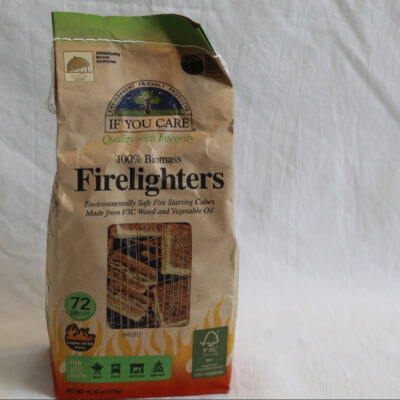 If You Care Biomass Firelighters 72 Pieces