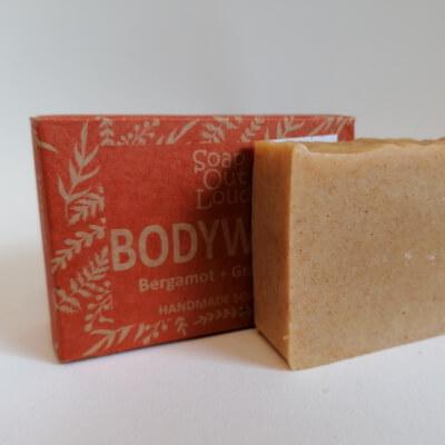 Soap Out Loud Bodywash Bar Bergamont And Grapefruit