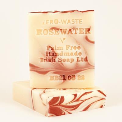 Palm Free Rosewater Soap Bar