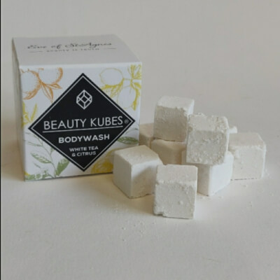 Reduced To Clear!!!!!Beauty Kubes Body Wash White Tea And Citrus