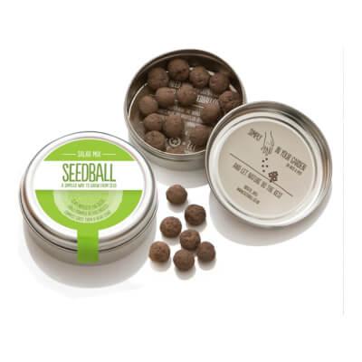 Seedball Salad Mix Tin