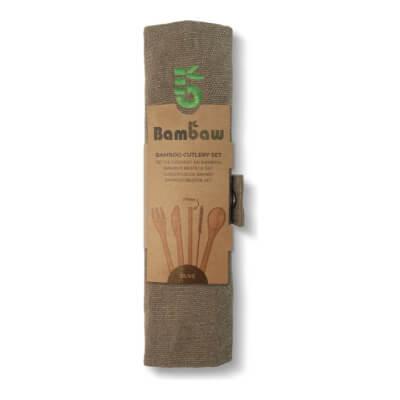 Bambaws Bamboo Cutlery Set