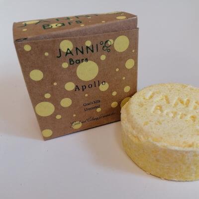 Janni Apollo Shampoo Bar
