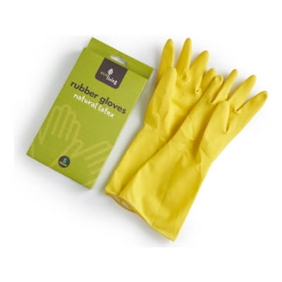 Ecoliving Natural Rubber Gloves Extra Large
