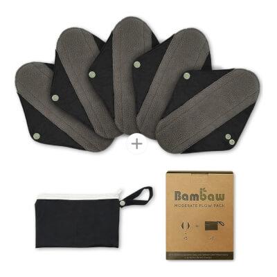 Bambaw Moderate Flow Multipack Reusable Sanitary Pads