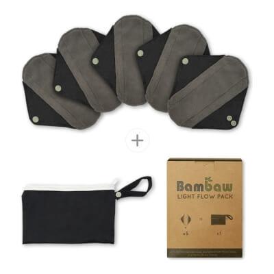 Bambaw Light Flow Multipack Reusable Sanitary Pads