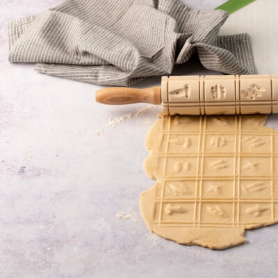 Ecoliving Biscuit Rolling Pin