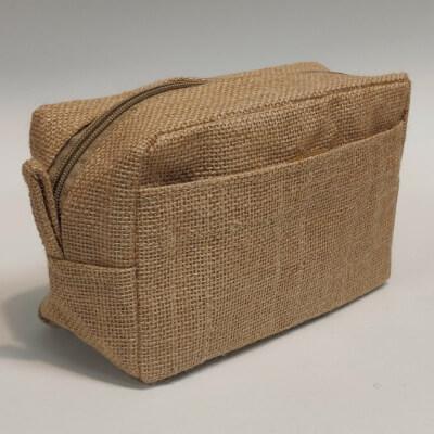 Jute Toiletries Bag