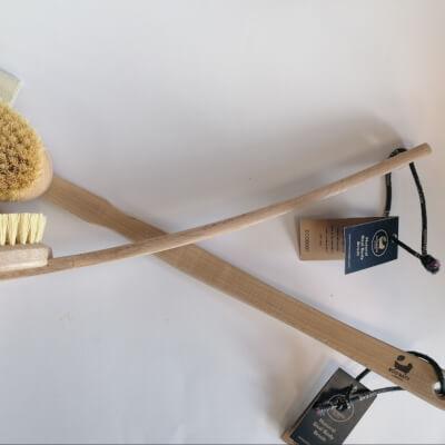 Eco Bath Body Brush With Detachable Head