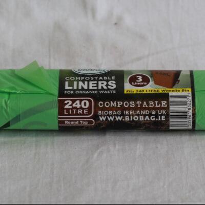 Biobag 240Ltr Compostable Bags