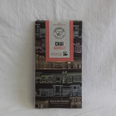 Exploding Tree Chai And Chilli 75% Dark Chocolate
