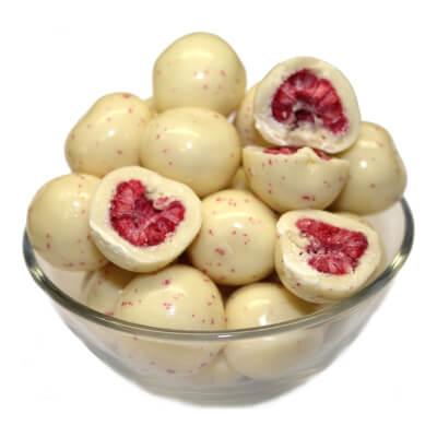 Yoghurt Covered Raspberries 100G