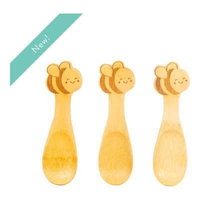 Bee Baby Spoons Set Of 3