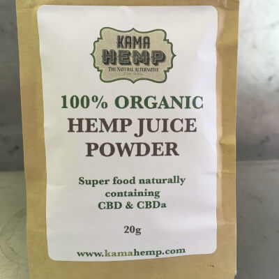 Kama Hemp Juice Powder