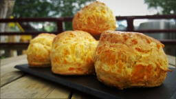 Scottish Cheddar Cheese Scones