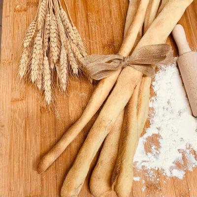 Artisan Grissini Sourdough Breadsticks