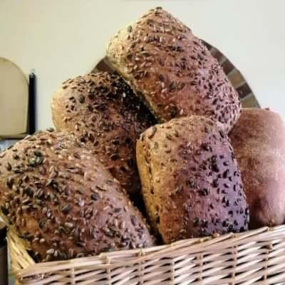 Brown Seeds Pan Loaf Sourdough