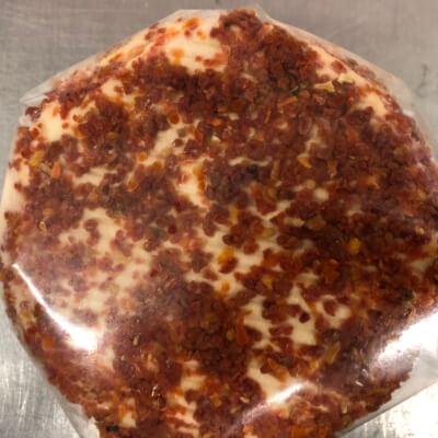 Creeny Lambkin - Fresh Sheep Cheese - Rolled In Sun-Dried Tomato