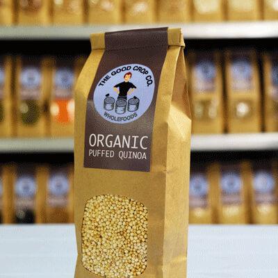 Organic Puffed Quinoa