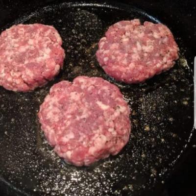 Salt And Pepper Herdwick Burgers